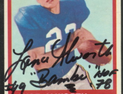 Chasing Bambi – Collecting the Chargers' Lance Alworth