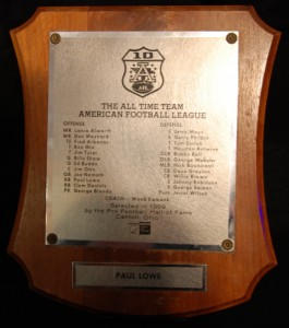AFL All-Time Team Award