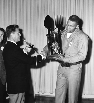 Ernie Ladd eating contest