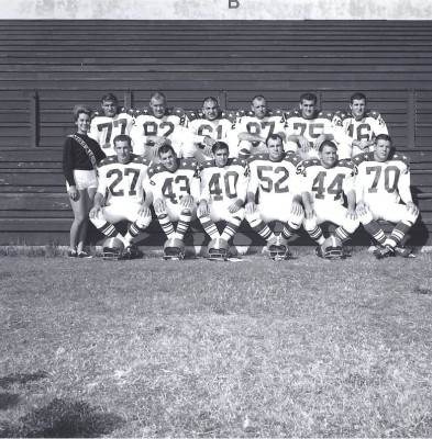 1963 AFL All Star Game, Houston Oilers