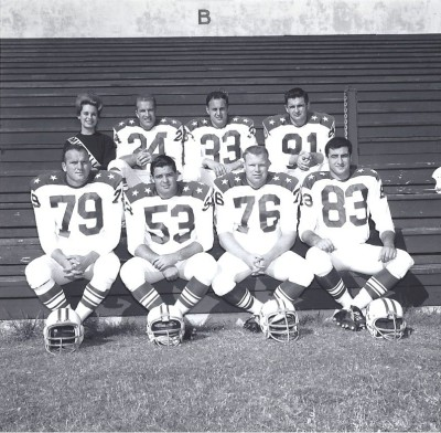 1963 AFL All Star Game, Boston Patriots
