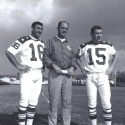1964 AFL All-Star Game, Babe Parilli, Mike Holovak, Jack kemp