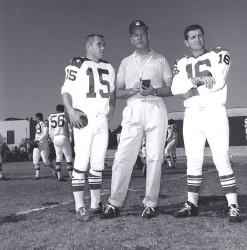 1963 AFL All Star Game, Pop Ivy, Jack Kemp, George Blanda