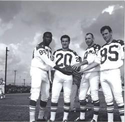 1964 AFL All-Star Game, Ernie Warlick, Gino Cappelletti, Charlie Hennigan, Baker Turner