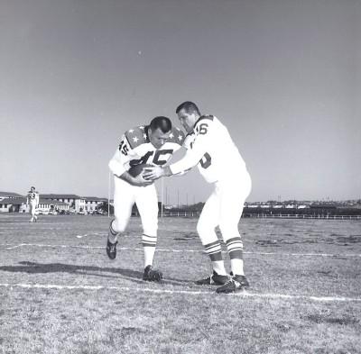 1963 AFL All Star Game, George Blanda, Dick Christy