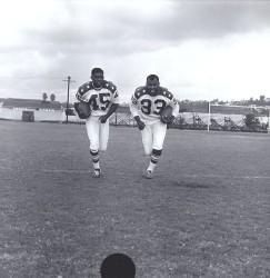 1964 AFL All-Star Game, Larry Garron, Cookie Gilchrist