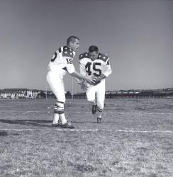 1963 AFL All Star Game, Jack Kemp, Dick Christy