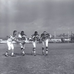 1964 AFL All-Star Game, Jack Kemp, Cookie Gilchrist, Larry Garron, Charlie Hennigan