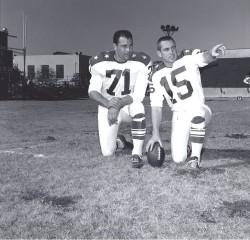 1963 AFL All Star Game, Tom Sestak, Jack Kemp
