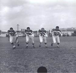 1964 AFL All-Star Game, Larry Eisenhauer, Tom Sestak, Ed Husmann, Bob Dee