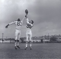 1964 AFL All-Star Game, Ernie Warlick, Bake Turner