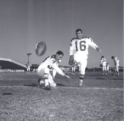1963 AFL All Star Game, Fred Bruney, George Blanda