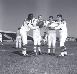 1963 AFL All Star Game, Ernie Warlick, Charlie Hennigan, Dick Christy, Jim Colclough