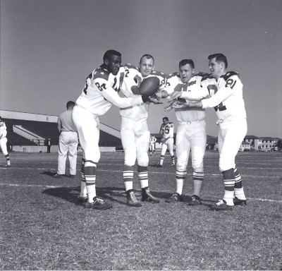 1963 AFL All Star Game, Ernie Warlick, Charlie Hennigan, Dick Christy, Jim Colclough