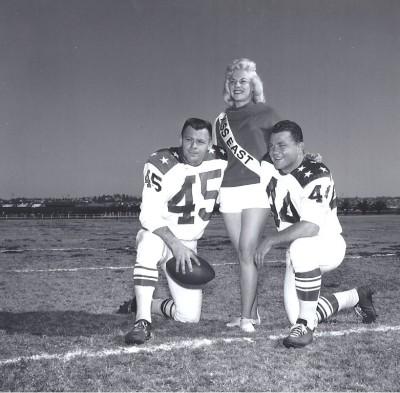 1963 AFL All Star Game, Dick Christy, Charlie Tolar