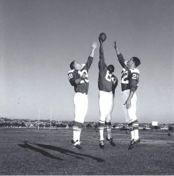 1964 AFL All-Star Game, Lance Alworth, Art Powell, Keith Lincoln