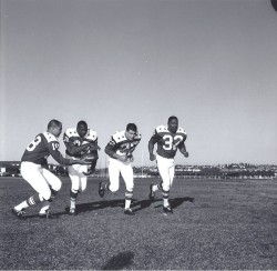 1964 AFL All-Star Game, Tobin Rote, Paul Lowe, Keith Lincoln, Clem Daniels