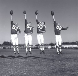1963 AFL All Star Game, Lionel Taylor, Fred Arbanas, Dave Kocourek, Don Norton