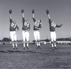 1963 AFL All Star Game, Lionel Taylor, Fred Arbanas, Dave Kocourek, Don Norton