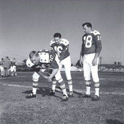 1963 AFL All Star Game, Jim Otto, Len Dawson, Frank Tripucka