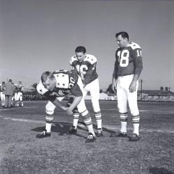 1963 AFL All Star Game, Jim Otto, Len Dawson, Frank Tripucka
