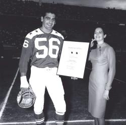 1964 AFL All-Star Game, Emil Karas