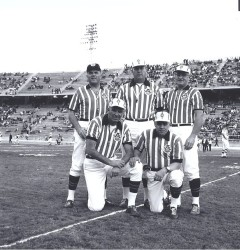 1964 AFL All-Star Game, Referees
