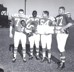 1963 AFL All Star Game, Jim Tyrer, Earl Faison, Bud McFadin, Ernie Ladd, Dave Grayson