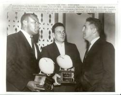 1963 AFL All Star Game, Cookie Gilchrist, Len Dawson, Murray Olderman