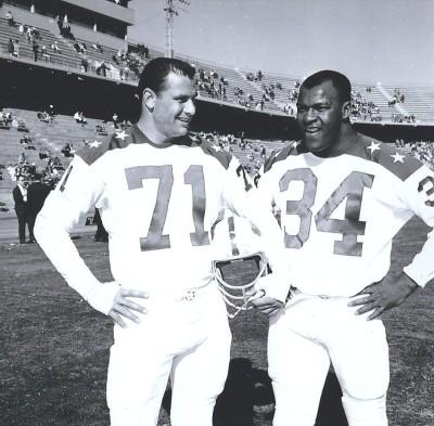 1963 AFL All Star Game, Tom Sestak, Cookie Gilchrist