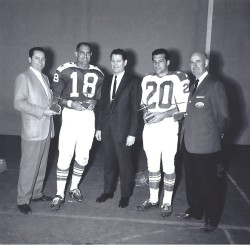 1964 AFL All Star Game, Barron Hilton, Tobin Rote, Joe Foss, Gino Cappelletti, Billy Sullivan