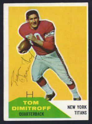 1960 fleer tom dimitroff