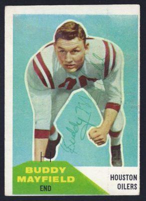 1960 fleer buddy mayfield