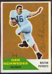 Autographed 1960 Fleer Ger Schwedes