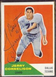 autographed 1960 fleer jerry cornelison