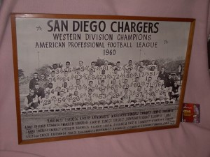 1960 Chargers team photo