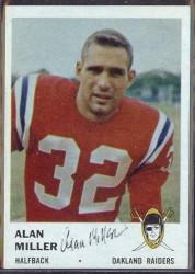 autographed 1961 fleer alan miller