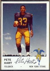 autographed 1961 fleer pete hart