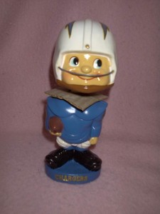 Charger bobble head doll