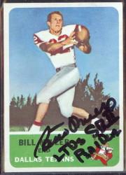 autographed 1962 fleer bill miller