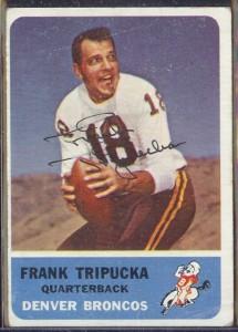 autographed 1962 fleer frank tripucka