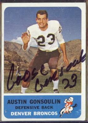 autographed 1962 fleer austin gonsoulin