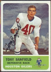 autographed 1962 fleer tony banfield