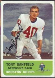 autographed 1962 fleer tony banfield