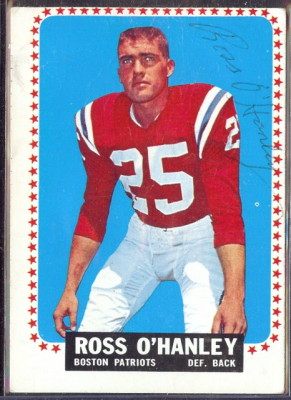 autographed 1964 topps ross o'hanley