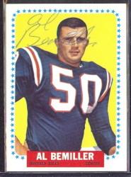 autographed 1964 topps al bemiller