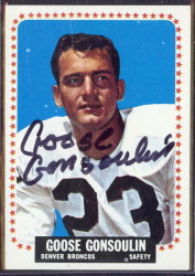autographed 1964 topps goose gonsoulin