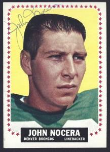 autographed 1964 topps john nocera