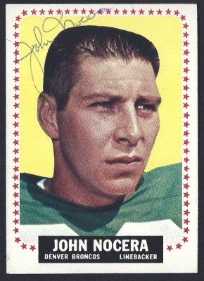 autographed 1964 topps john nocera