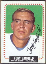 autographed 1964 topps tony banfield